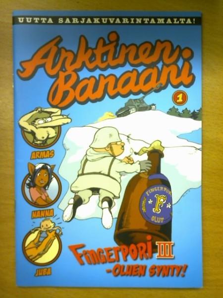Arktinen Banaani 1 - Fingerpori III-oluen synty, Pertti Jarla