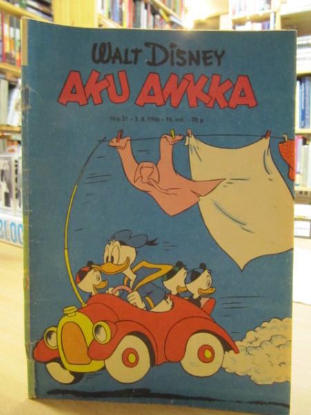 Aku Ankka 1966 31, Carl Barks