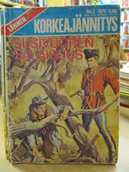 Lännen korkeajännitys 1979 2 Susivuoren salaisuus,