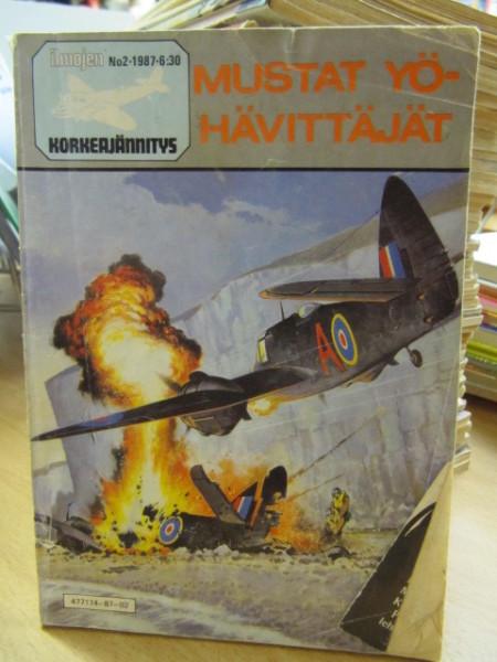 Ilmojen korkeajännitys 1987 2 Mustat yöhävittäjät,