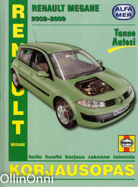 Renault Megane 2002-2009 : korjausopas, R M. Jex