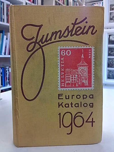 Zumstein Europa briefmarken-katalog 47. auflage 1964,
