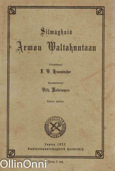 Silmäyksiä armon valtakuntaan, S.W. Krummacher