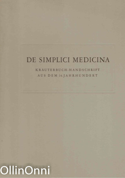 De Simplici Medicina, Dr. Arnold Pfister