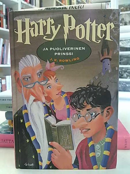 Harry Potter ja puoliverinen prinssi, J. K. Rowling