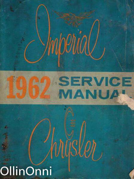 Imperial and Chrysler Service Manual - Models SC-1 (Newport), SC-2 (300), SC-3 (New Yorker), SY-1 (Imperial), Ei tiedossa