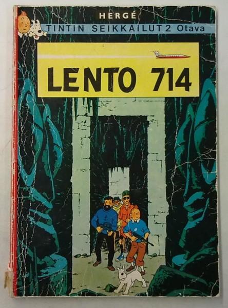 Tintin seikkailut 2 - Lento 714, Hergé Hergé