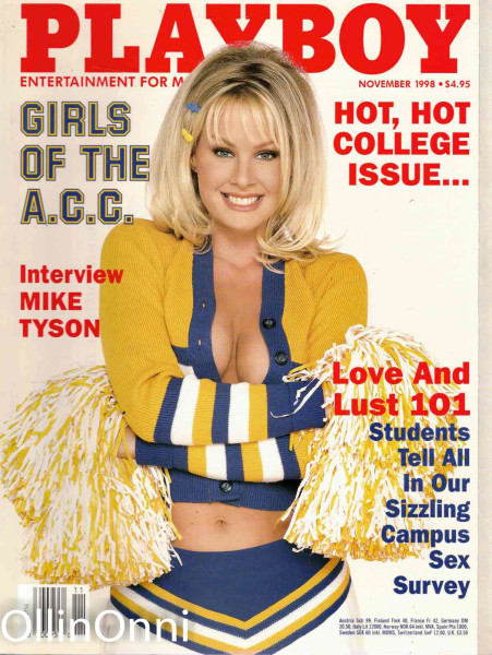 Playboy November 1998, Ei tiedossa