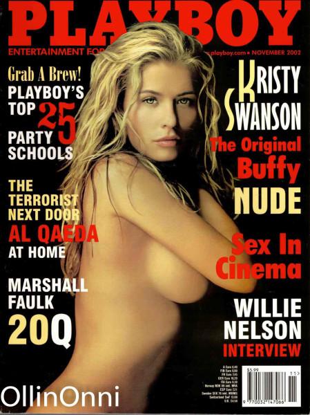 Playboy November 2002, Ei tiedossa