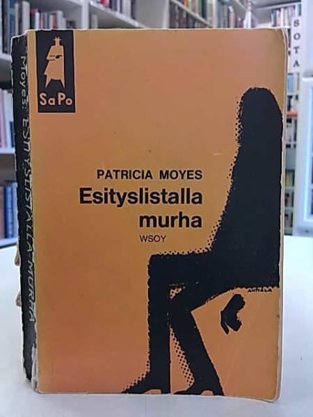 Esityslistalla murha (SaPo 65), Patricia Moyes