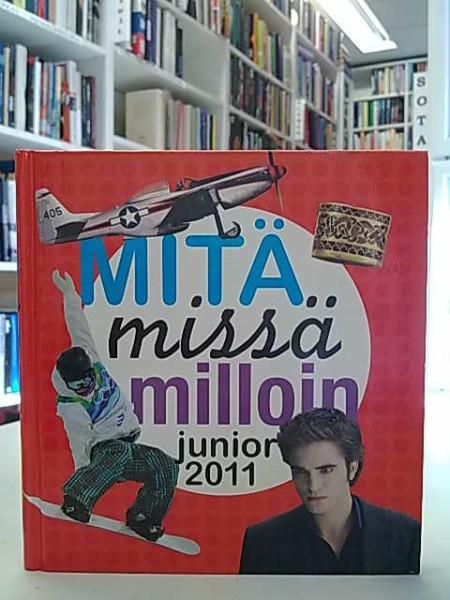 Mitä missä milloin junior 2011 : koululaisen vuosikirja syyskuu 2009 - elokuu 2010, Ari Suramo