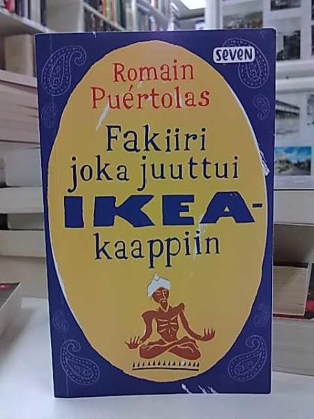 Fakiiri joka juuttui Ikea-kaappiin, Romain Puértolas