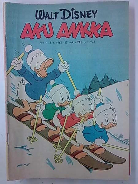 Aku Ankka 1965 1,