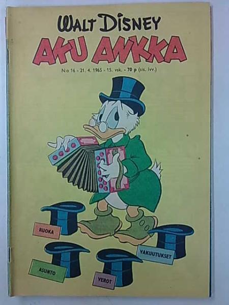 Aku Ankka 1965 16,