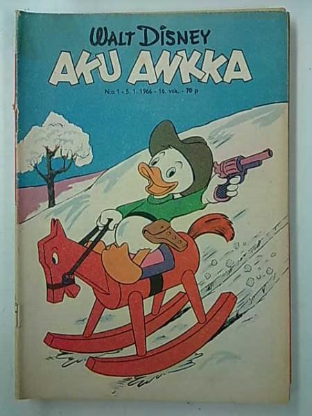 Aku Ankka 1966 01,
