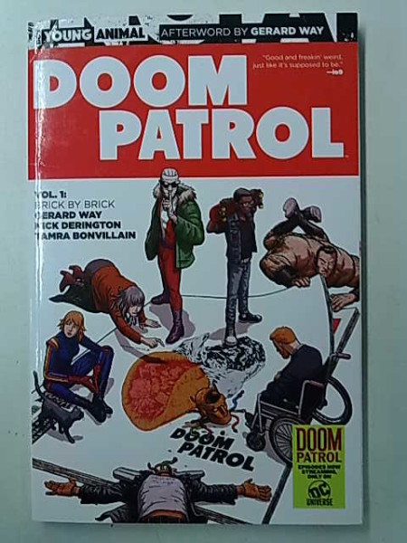 Doom Patrol Vol. 1: Brick by Brick, Gerard Way