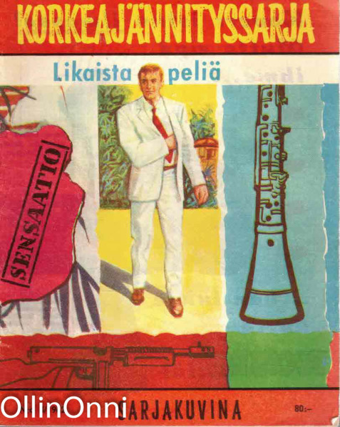 Korkeajännityssarja 3/1962 - Likaista peliä, John Steel