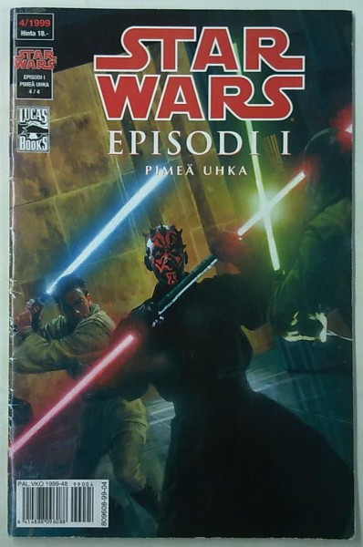 Star Wars 1999-04 Episodi I - Pimeä uhka 4/4,