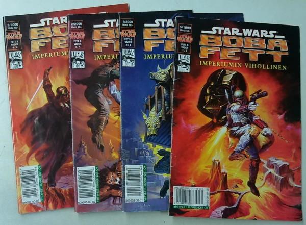 Star Wars: Boba Fett - Imperiumin vihollinen 1-4 (Star Wars 1999-05, Star Wars 2000-01, Star Wars 2000-02, Star Wars 2000-03),
