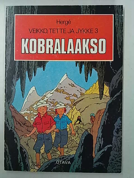 Kobralaakso - Veikko, Tette ja Jykke 3,  Herge