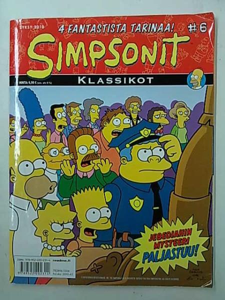 Simpsonit Klassikot 6 - Syksy 2010 - Jebediahin mysteeri paljastuu, Matt Groening