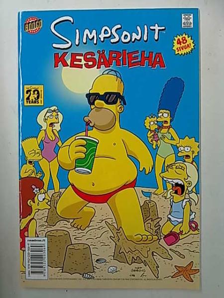 Simpsonit Kesärieha, Matt Groening