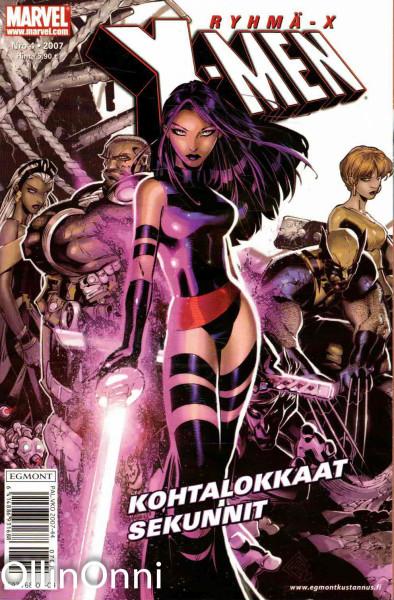 Ryhmä X - X-Men 4/2007, Jouko Ruokosenmäki