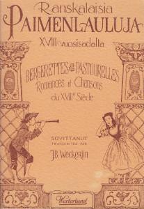 RAnskalaisia paimenlauluja XVIII vuosisadalla,