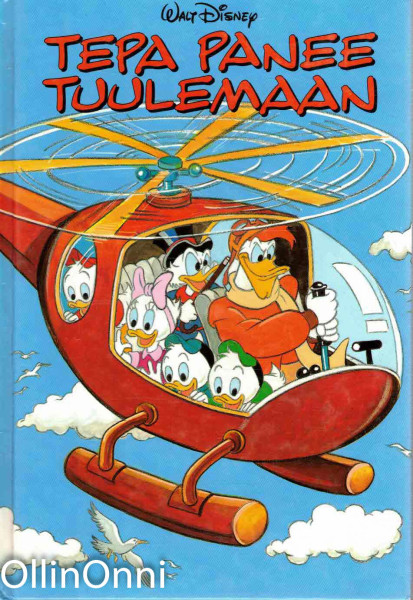 Tepa panee tuulemaan : Disneyn satulukemisto, Walt Disney