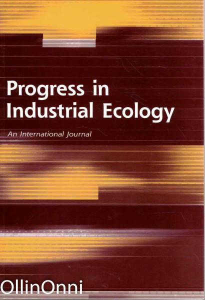 Progress in Industrial Ecology, Ei tiedossa