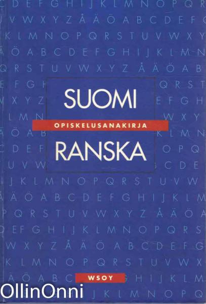 Suomi - ranska : opiskelusanakirja, Jean-Michel Kalmbach