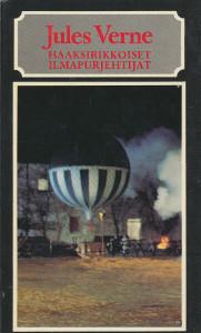 Haaksirikkoiset ilmapurjehtijat, Jules Verne