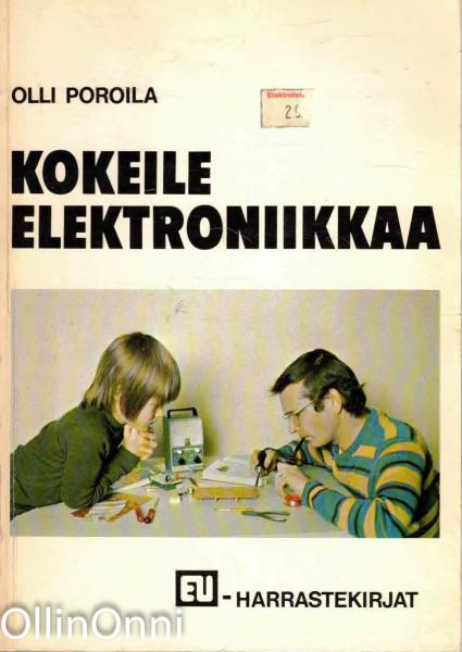 Kokeile elektroniikkaa, Olli Poroila