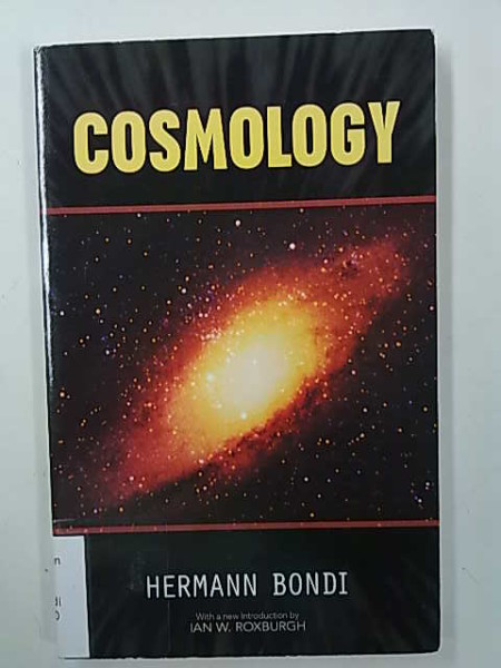 Cosmology - Second Edition, Hermann Bondi