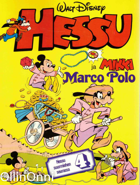 Hessu ja Mikki Marco Polo, Walt Disney