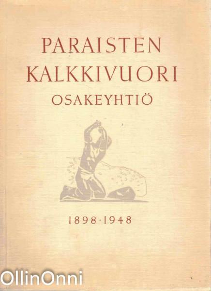 Paraisten Kalkkivuori Osakeyhtiö 1898-1948, Per Nyström