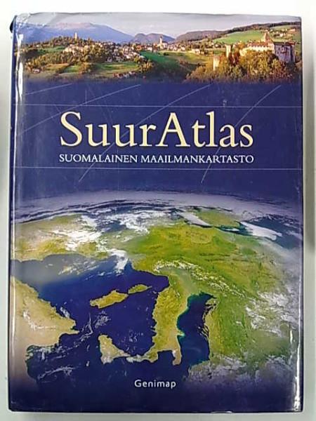 SuurAtlas : suomalainen maailmankartasto, Risto Pekkanen