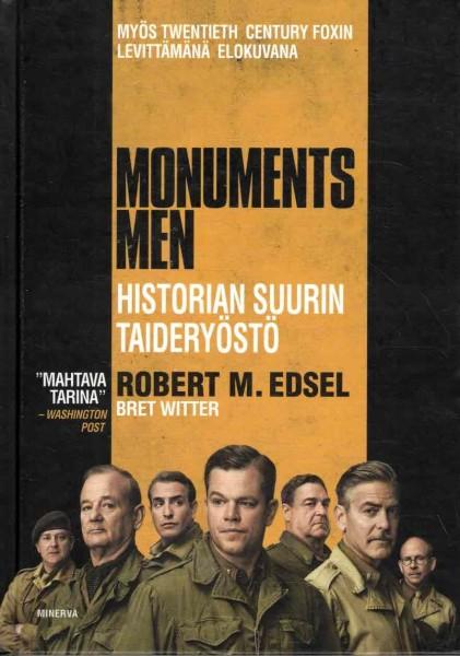 Monuments Men : historian suurin taideryöstö, Robert M. Edsel