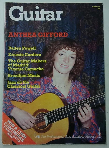 Guitar March 1984 (March Issue Vol.12 No.8),