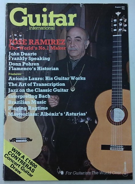 Guitar International August 1984 (August Issue Vol.13 No.1),