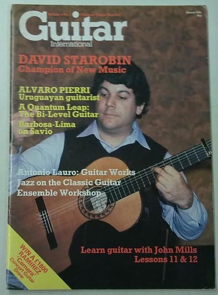 Guitar International March 1985 (February Issue Vol.13 No.8),
