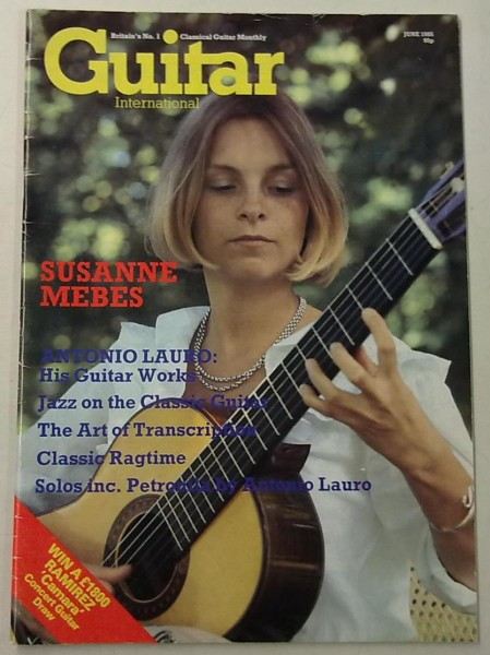 Guitar International June 1985 (June Issue Vol.13 No.11),