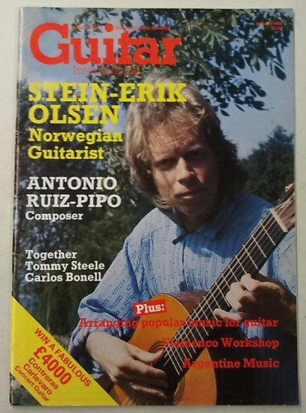 Guitar International January 1986 (January Issue Vol.14 No.6),