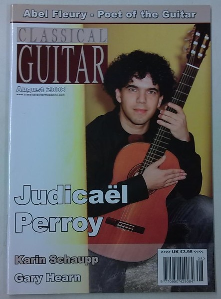 Classical Guitar August 2008 (Volume 26, No.12),