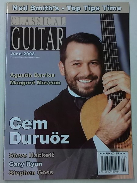 Classical Guitar June 2008 (Volume 26, No.10),