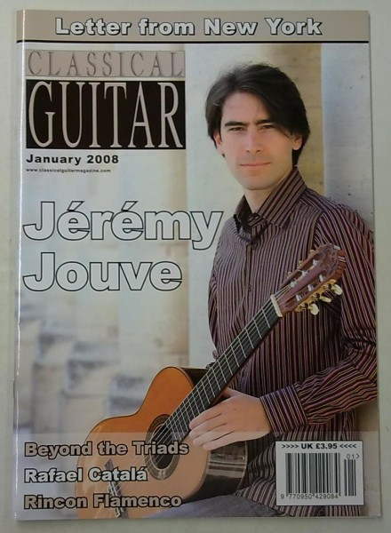 Classical Guitar January 2008 (Volume 26, No.5),