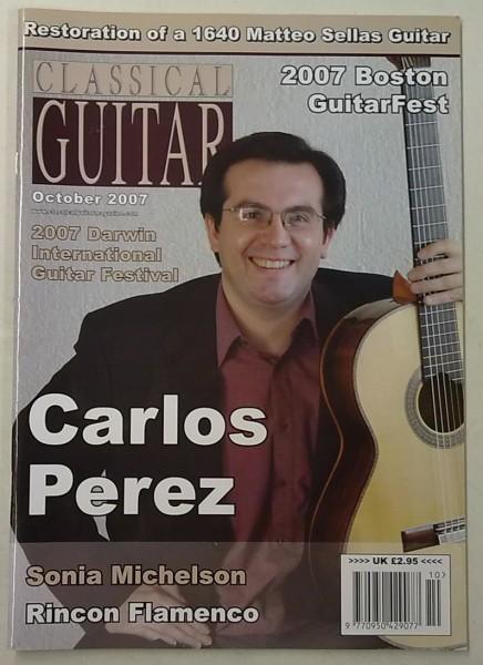 Classical Guitar October 2007 (Volume 26, No.2),
