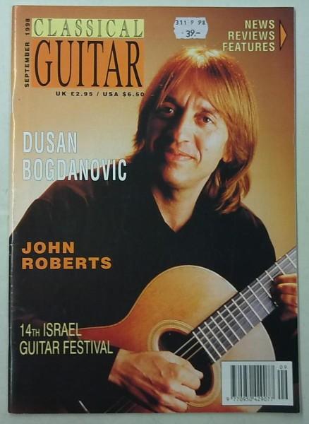 Classical Guitar September 1998 (Volume 17, No.1),