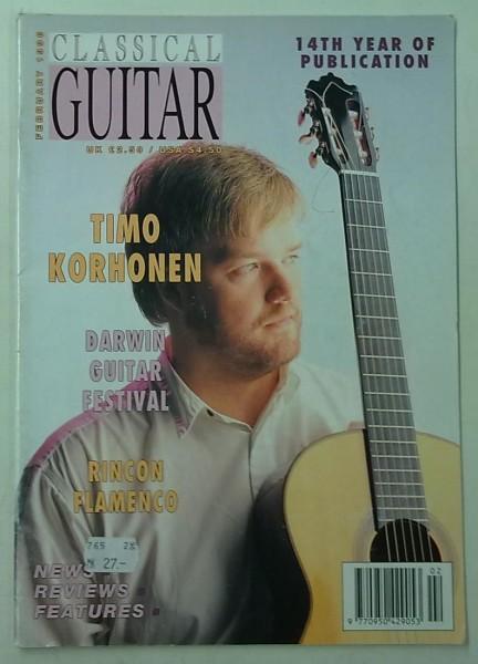 Classical Guitar January 1996 (Volume 14, No.6),