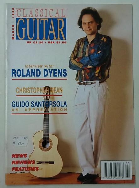 Classical Guitar March 1995 (Volume 13, No.7),